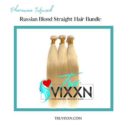Russian Blonde Straight Bundle Deal (Frontal/Closure sold separately)