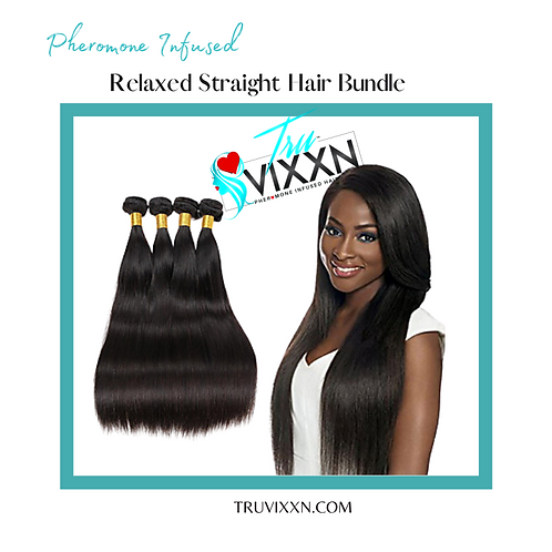 Relaxed Straight Bundle Deal (Frontal/Closure sold separate)