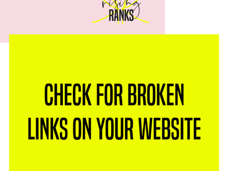 Check for Broken Links on Your Website: How To Do It and Why It's Important