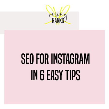 How to Use Instagram For SEO: 6 Easy Tips