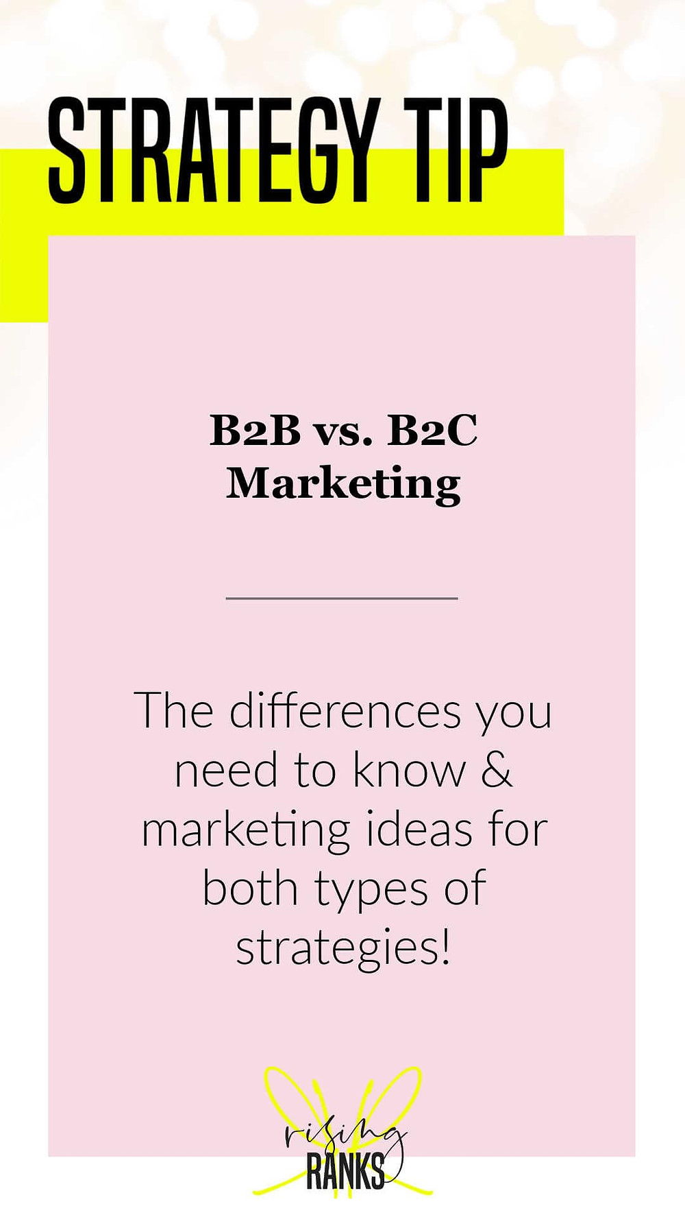 b2b vs b2c marketing the differences you need to know