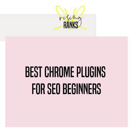 Best Chrome Plugins For SEO Beginners