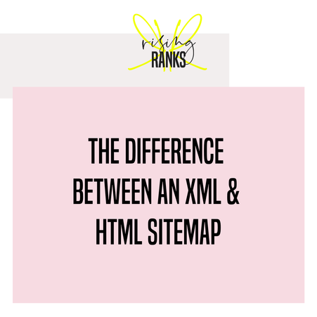 What's the Difference Between an XML Sitemap and HTML Sitemap?