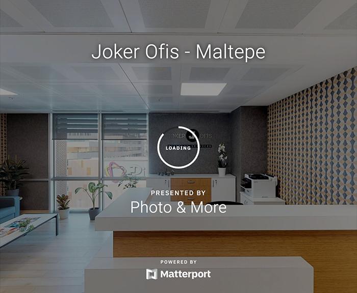 Joker Ofis Maltepe Sanal Tur Çekimi