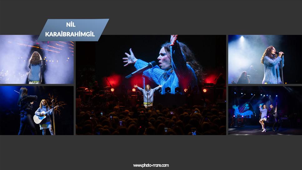Nil Karaibrahimgil'in Zorlu Center'da gerçekleşen açık hava konseri fotoğraf çekimimiz.  Fotoğrafçı : Serkan ÇANKAYA  Volkan ARSLAN