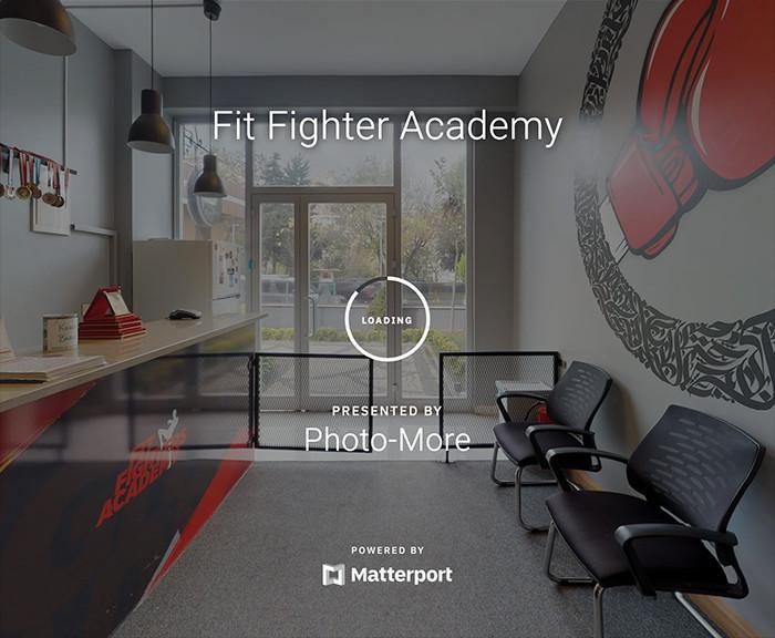 Fit Fighter Academy Sanal Tur Çekimi