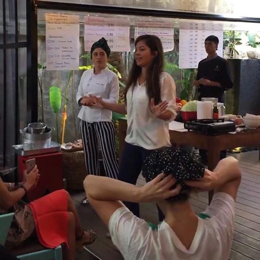 Empresa Natura : Vivências em Mindfulness para Team Building e Aula de Culinária com Patricia Helu