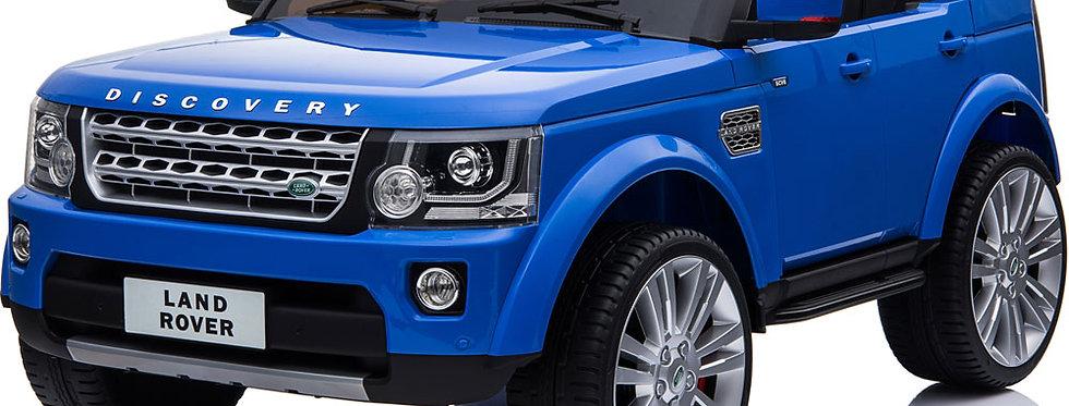 Mini Moto Land Rover Discovery 12v Blue (2.4ghz RC)