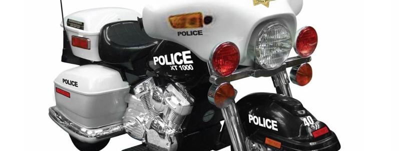 NPL Patrol H. Police 12v Motorcycle