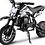 Thumbnail: MotoTec 49cc GB Dirt Bike Black