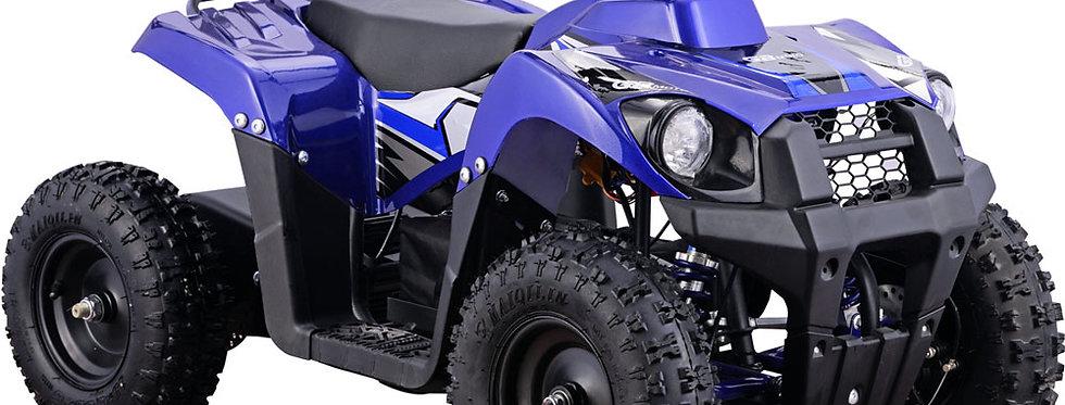 MotoTec 36v 500w Kids ATV Monster v6 Blue