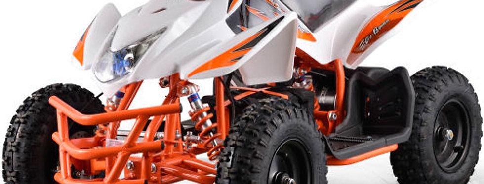 MotoTec 24v Kids ATV Titan v5 White