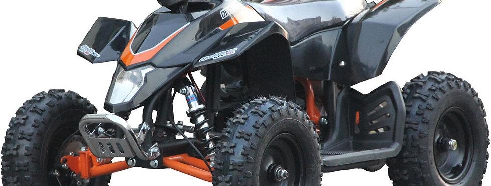 MotoTec 24v Kids ATV v3 Black