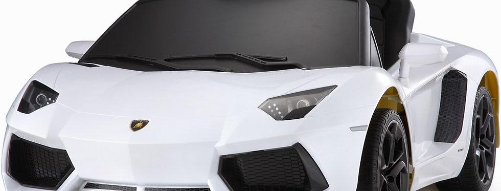 Rastar Lamborghini Aventador LP700-4 6v White (Remote Controlled)