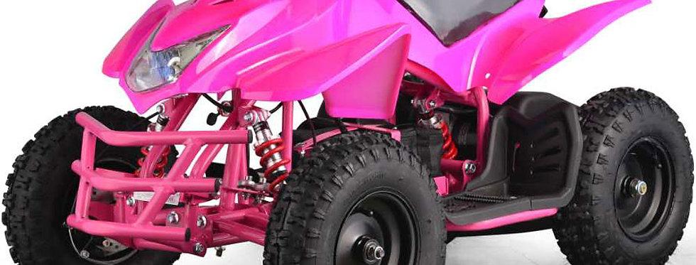 MotoTec 24v Kids ATV Titan v5 Pink