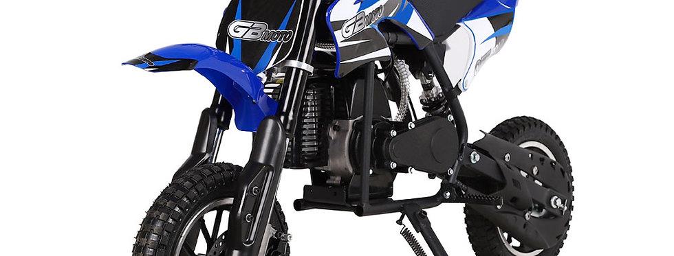 MotoTec 49cc GB Dirt Bike Blue