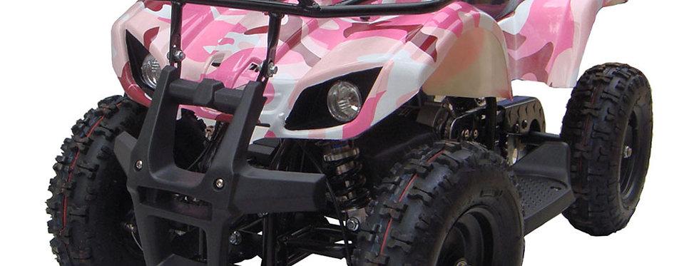 MotoTec 24v Kids ATV v4 Pink