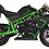 Thumbnail: MotoTec Cali Gas Pocket Bike 40cc 4-Stroke Green