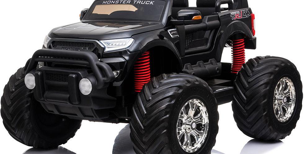 MotoTec Monster Truck 4x4 12v Black (2.4ghz)
