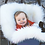 Thumbnail: Long Wool Lamb Skin Baby Cocoon by Bowron