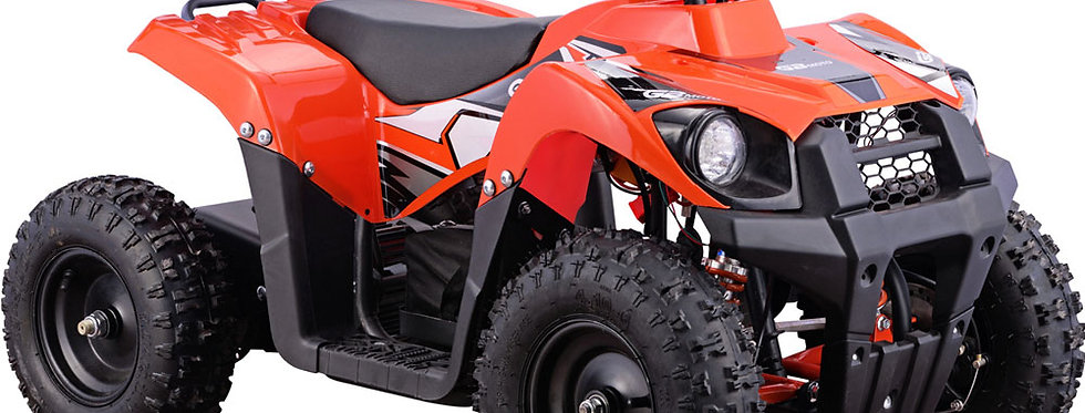 MotoTec 36v 500w Kids ATV Monster v6 Orange