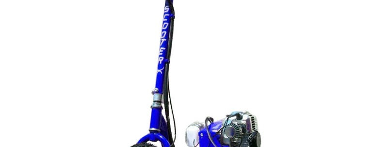 ScooterX Dirt Dog 49cc Blue