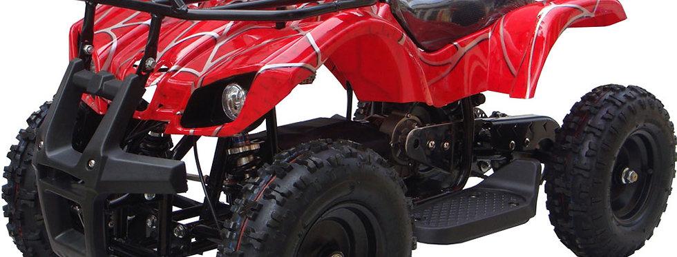 MotoTec 24v Kids ATV v4 Red
