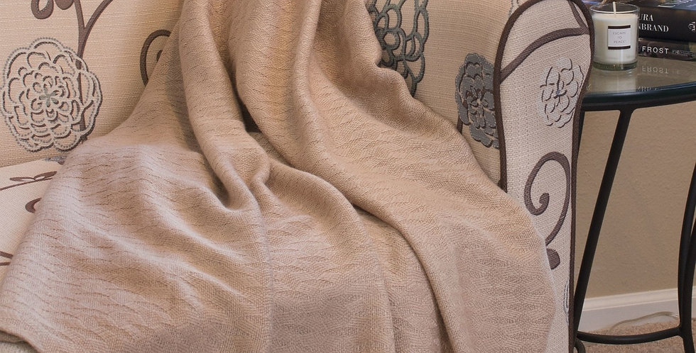 Bamboo Throw Blanket - Made of Rayon Viscose from Bamboo