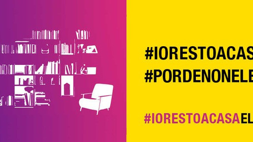 #iorestoacasaeleggo, la campagna di Pordenonelegge