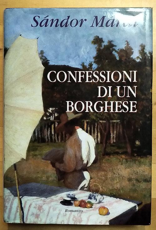 Confessioni di un borghese - Sandor Marai