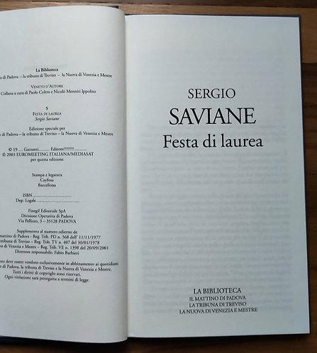 Festa di laurea - Sergio Saviane