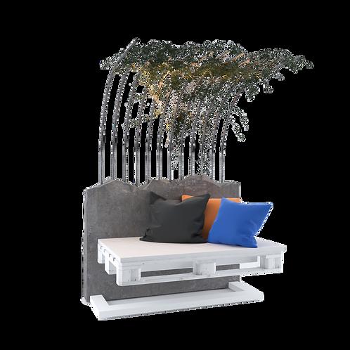 Pallet Outdoor Seat