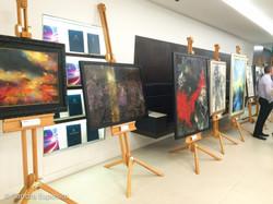 More original paintings on display
