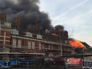 Battersea Arts Centre hit by major blaze