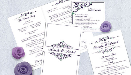 wedding stationary, print design, graphic design, jennifer pulido