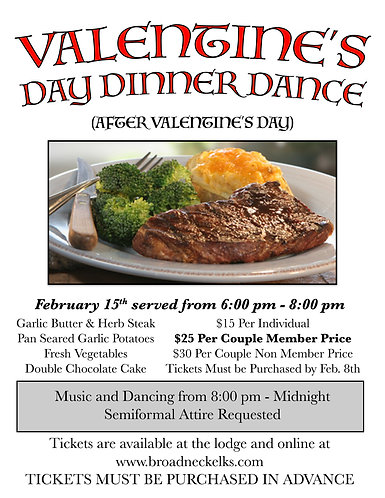 Valentine's Day Dinner-Single
