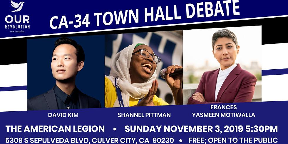CA-34 Town Hall Debate