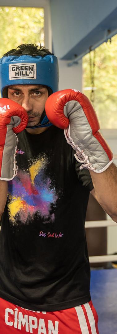 Alin Cîmpan -White Collar Boxing Master Trainer