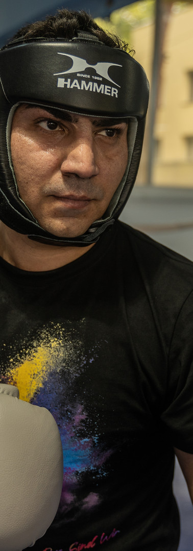 Bogdan Păun-White Collar Boxing Master Trainer