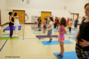 Teaching Children's Yoga