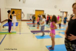 Teaching Children's Yoga