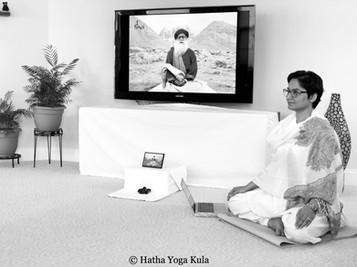 Isha Yoga Class