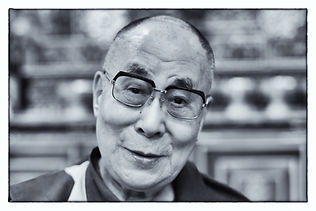 David Wright photographer  Dalai Lama