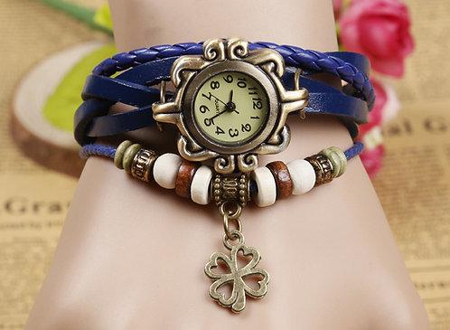 Часы- талисман «Счастливый клевер»