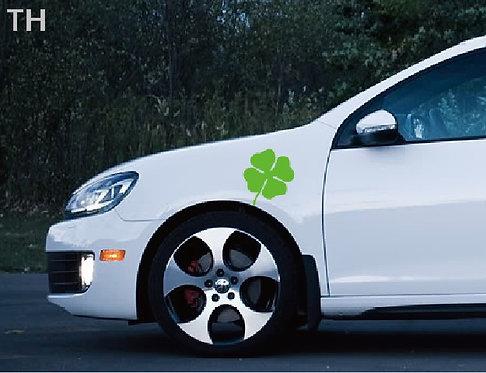 Наклейка на автомобиль «Клевер Удачи» 2