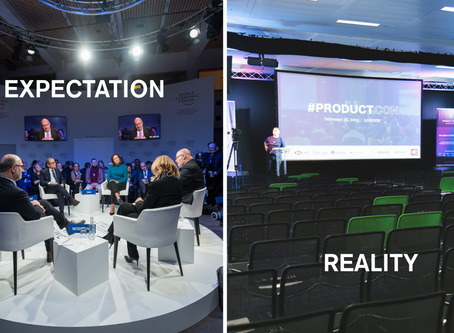 Expectation vs. reality in the business event world