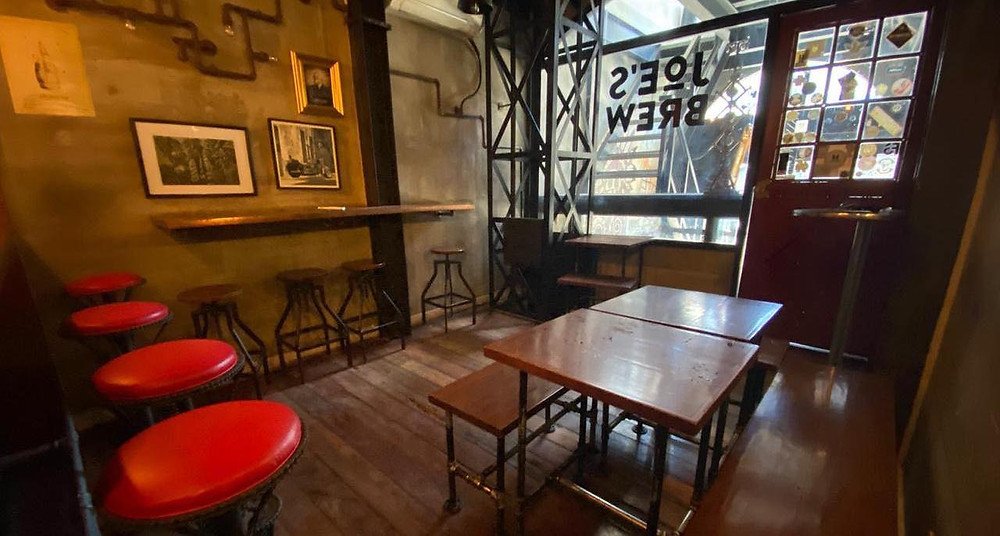 Joe's Brew Taproom has sat empty since the Manila government imposed an alcohol ban