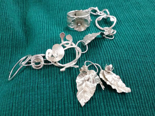 BEGINNERS SILVER JEWELLERY COURSES STARTING IN SEPTEMBER