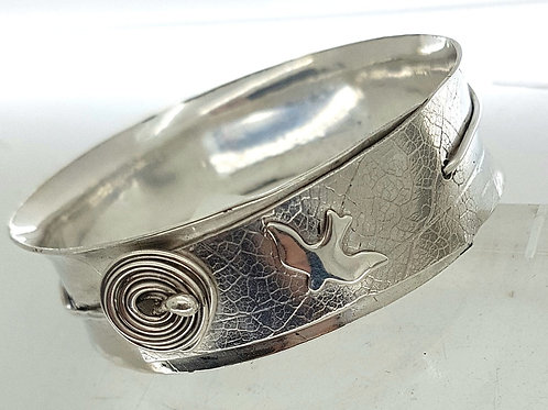 MOTHERING WEEKEND -  SILVER JEWELLERY - BANGLE MAKING   Sat 21 March