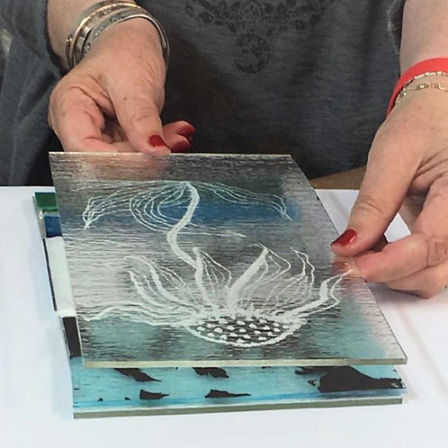 GLASS FUSING - SCREEN PRINTING - Sunday 23 August